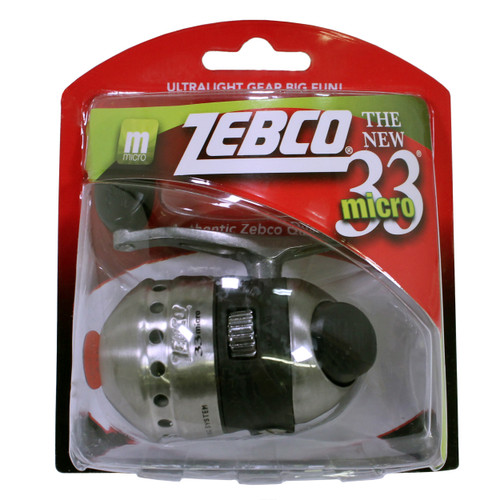 Zebco / Quantum 33 Micro Spincast Reel Ambidextrous 33MCKA.04C.CP3