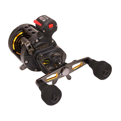 Penn Fathom II Level Wind Line Counter Saltwater Casting Reel 15 Right 1481305