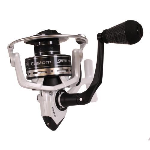 Lews Fishing Custom Speed Spin Spinning Reel CS400 Ambidextrous CS400