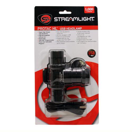 Streamlight Protac HL USB Headlamp 120V Ac Card 61306