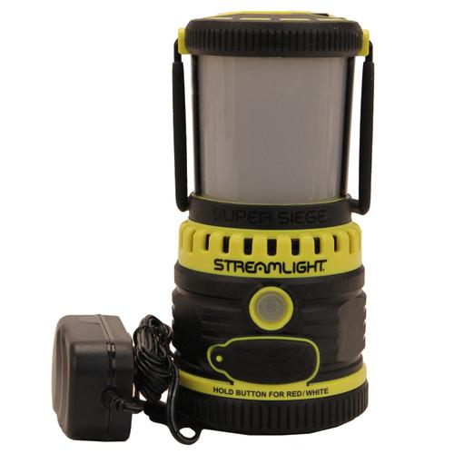 Streamlight Super Siege Flashlight 120V AC-Yellow (1100 Lumes) 44945
