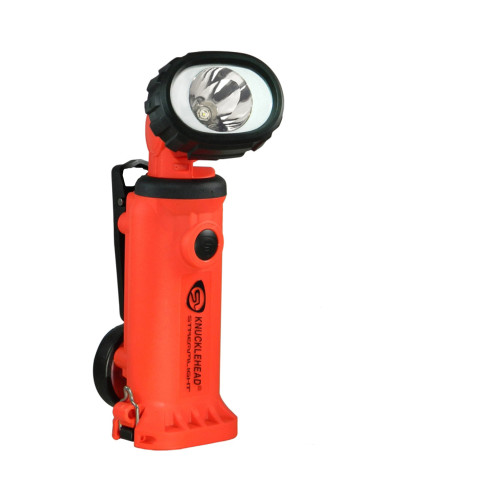 Streamlight Knucklehead Spot Flashlight 120V AC/12V DC - Orange 90757