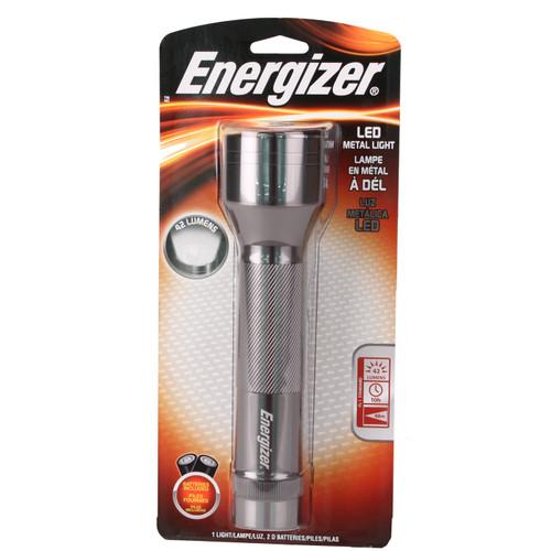 Energizer Standard 2D 6-LED Metal ENML2DS