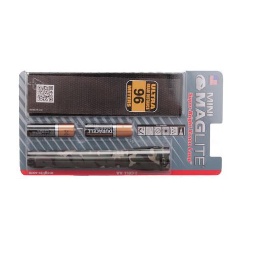 Maglite Mini Mag AA Flashlight Holster Pack Camo SM2A02H