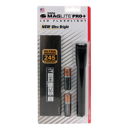 Maglite Mini Mag Led Pro+ Flashlight Black SP+P01H