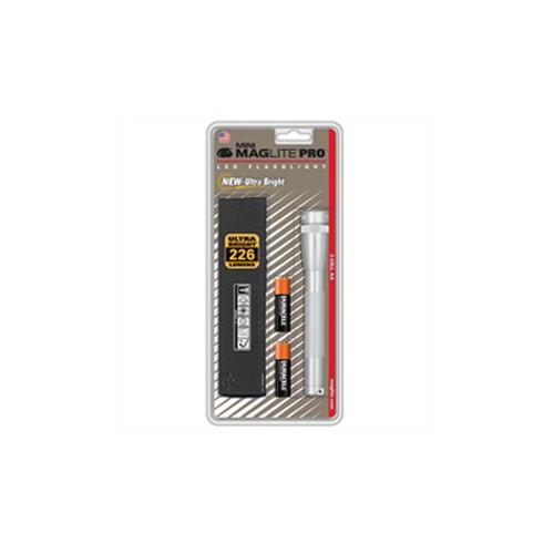 Maglite Mini Mag LED Pro Flashlight Silver SP2P10H