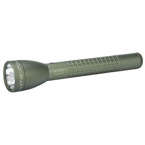 Maglite LED 3-Cell C Flashlight Blister Pack Foliage Green ML50LX-S3RI6