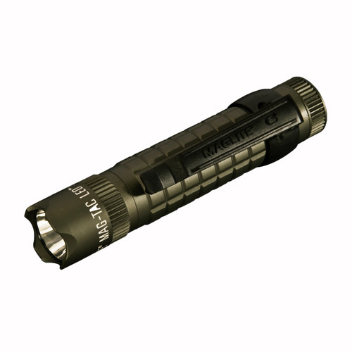 Maglite Mag-Tac Flashlight Foilage Green Crowned Bezel SG2LRB6
