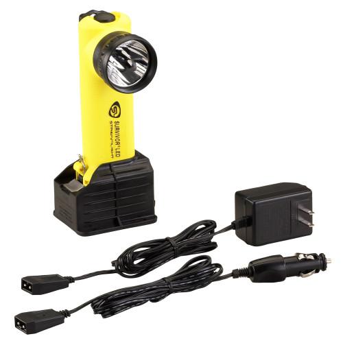 Streamlight Survivor LED Flashlight AC/DC Yellow SC 90513