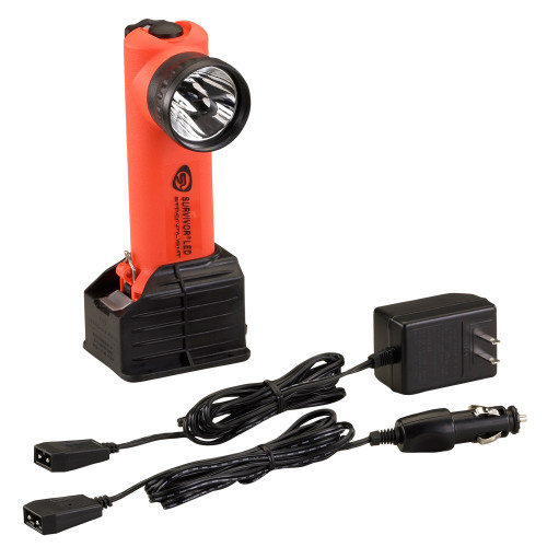 Streamlight Survivor LED Flashlight AC/DC Orange SC 90503