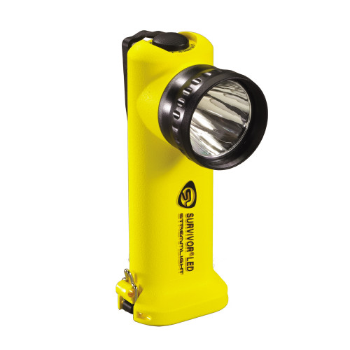 Streamlight Survivor LED Flashlight Only Yellow Rechargeable 90510
