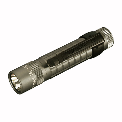 Maglite Mag-Tac Flashlight Urban Gray Plain Bezel SG2LRG6