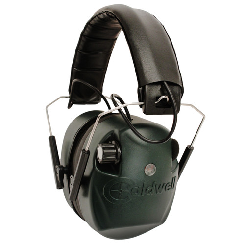 Caldwell E-Max Electronic Hearing Protection 25 NRR Green 497700