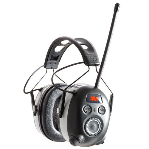 Peltor Work Tunes Wireless Hearing Protector with Bluetooth Black  90542-3DC