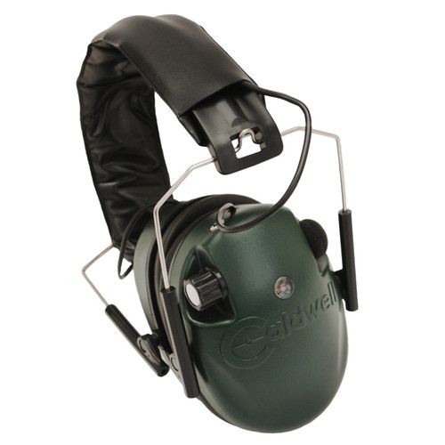 Caldwell E-Max Low Profile Electronic Hearing Protection 23 NRR Green 487557