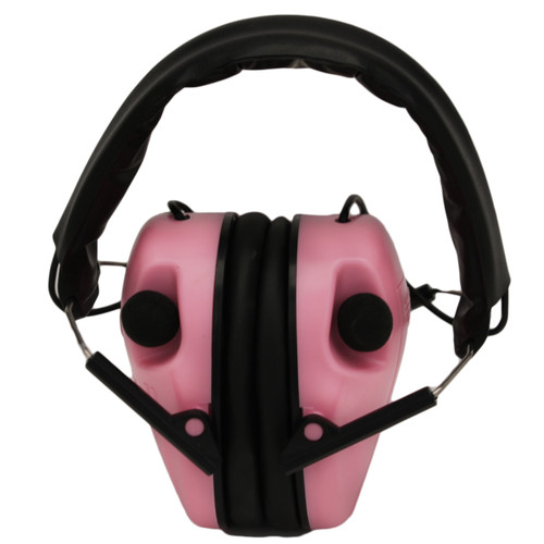 Caldwell E-Max Low Profile Electronic Hearing Protection 23 db NRR Pink 487111