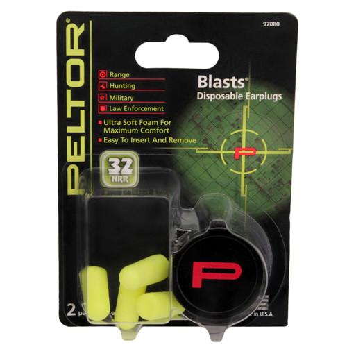 Peltor Blasts Disposable Earplugs  97080-10C