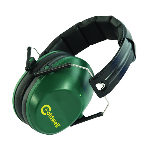 Caldwell Low Profile Range Ear Muffs Hearing Protection Green 498024