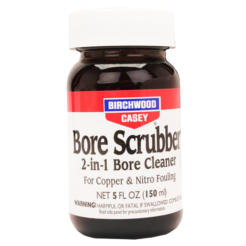 Birchwood Casey Bore Scrubber 2-in-1 Cleaner for Firearms 5oz. Liquid 33632