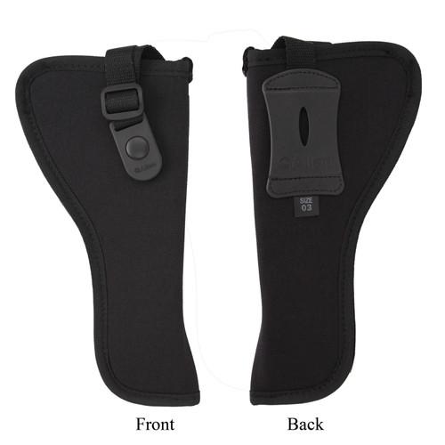 Allen Cases Cortez Nylon Pistol Holster Size 3 5-6.5in. Medium Large DA Revolvers Right Hand Black 44803