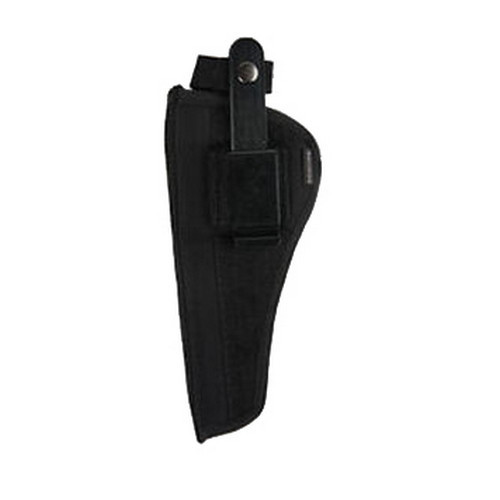 Bulldog Cases Belt and Clip Holster Ambidextrous Fits Revolvers 2-2.5in. Black FSN-2