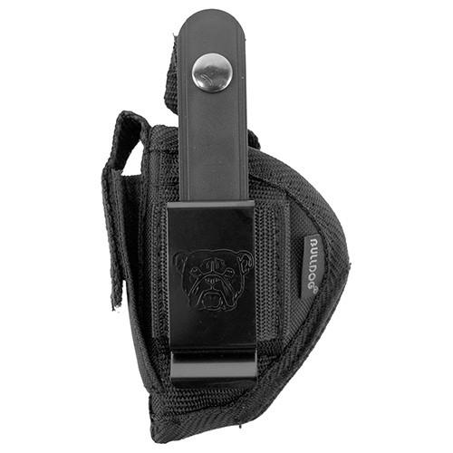 Bulldog Cases Belt and Clip Holster Ambidextrous Mini Semi-Autos Black FSN-1