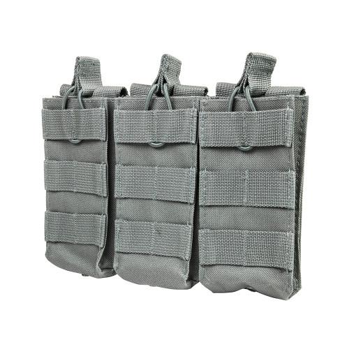 NcStar AR Triple Mag Pouch Adjustable Straps Urban Gray CVAR3MP2928U