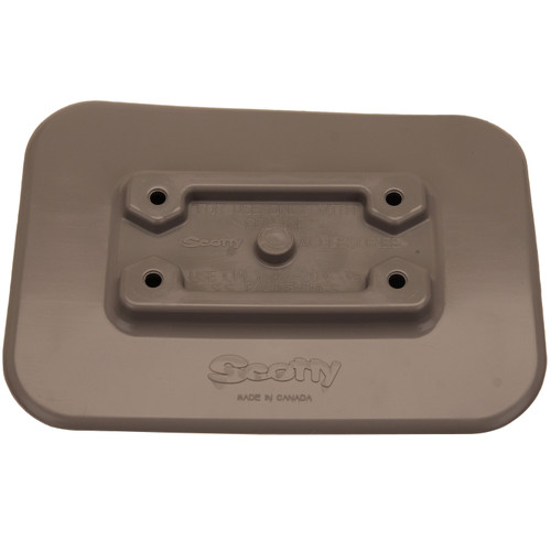 Scotty Glue-On Pad For Inflatable Boats Gray 0341-GR