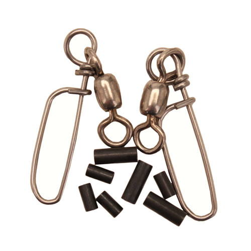 Scotty Coastlock Snap with Swivel 2-Pack Stainless Steel 1150