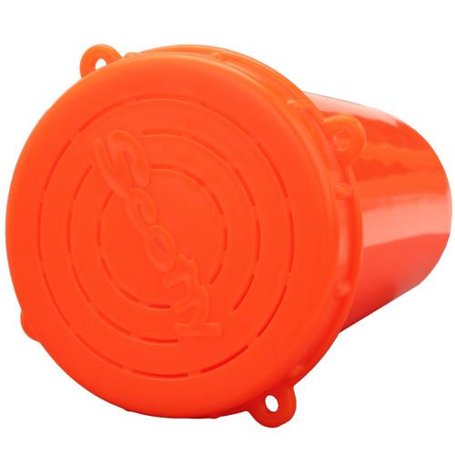 Scotty Crab Diner Bait Jar with Lid 1 Liter Red 0657