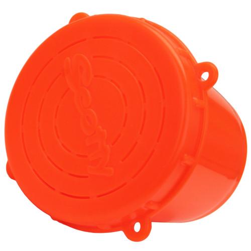 Scotty Crab Diner Bait Jar with Lid .5 Liter Red 0652