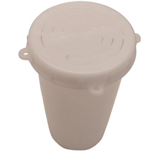 Scotty Crab Diner Bait Jar with Lid 1 Liter White 0651