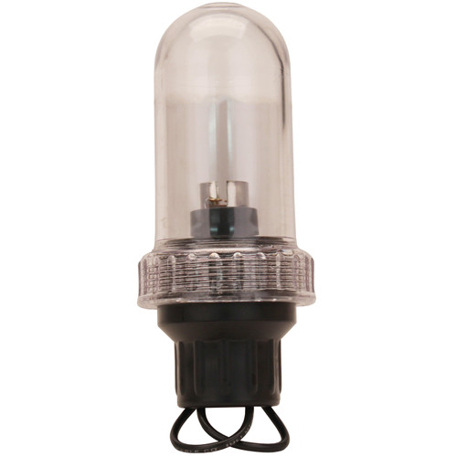 Scotty General Purpose Light .75in. IPT Base Clear 0804-CL