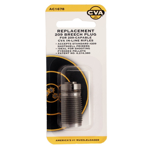 CVA Replacement Breech Plug 209 Inline Shotgun Primer AC1678