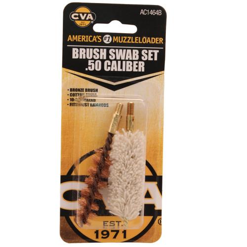 CVA Brush/Swab Set .50 Calliber AC1464B