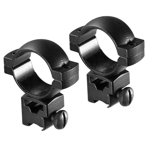Barska Optics High Dovetail Rings 30mm. Matte Black AI11756
