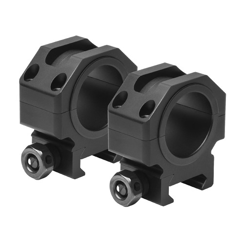 NcStar 30mm. Tactical Rings .9in. Height Black VR30T09