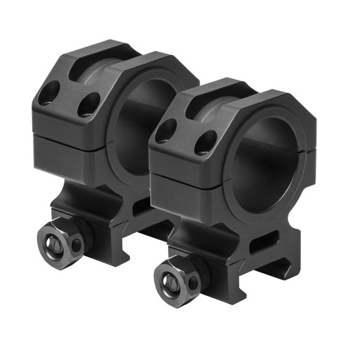 NcStar 30mm. Tactical Rings 1.1in. Height Black VR30T11