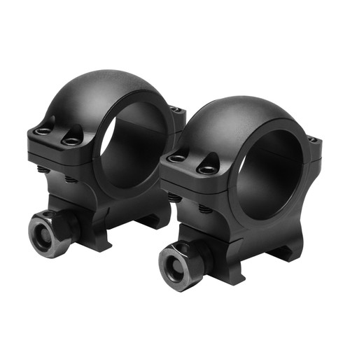 NcStar 30mm. Hunter Rings .90in. Height Black VR30H09
