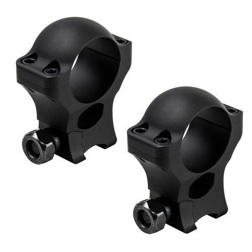 NcStar 1in. Hunter Rings .375in. Dovetail 1.30in. Height Matte Black VR38D13