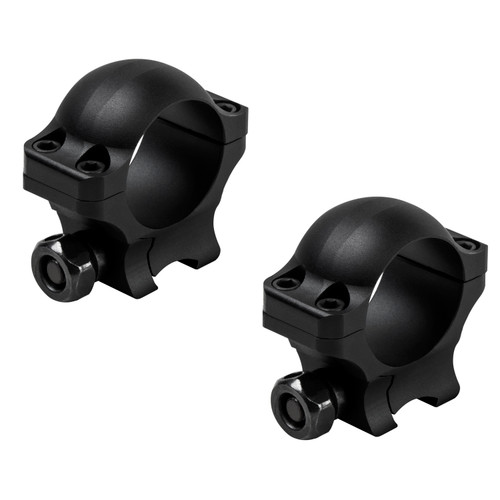 NcStar 1in. Hunter Rings .375in. Dovetail 0.9in. Height Matte Black VR38D09