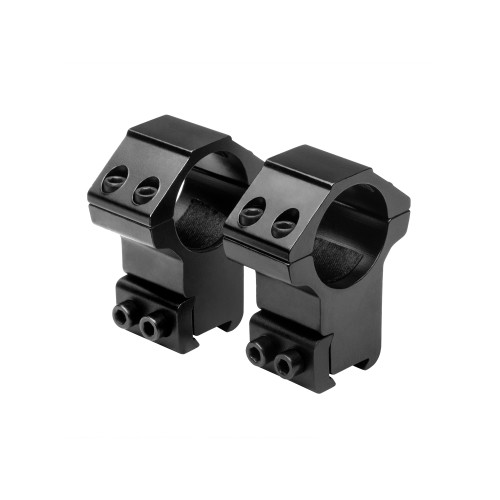NcStar 1in. Rings .375in. Dovetail High Black RB27
