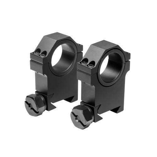 NcStar 30mm. Weaver Rings with 1in. Insert Aluminum Black RB24