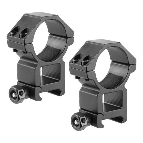Barska Optics Weaver Style HQ Rings 30mm. High Height Matte Black AI13190