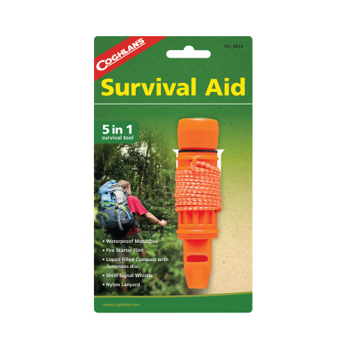 Coghlans 5-in-1 Survival Aid Kit 8634