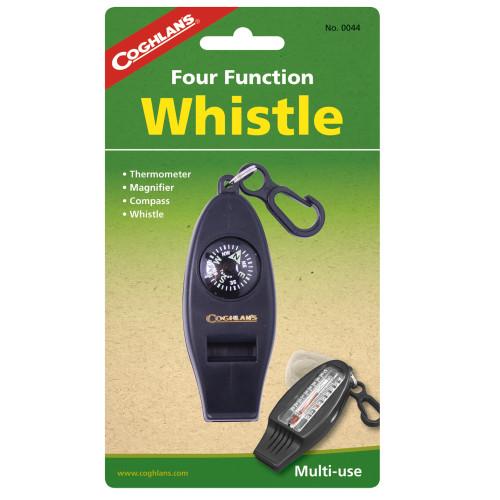 Coghlans Four Function Whistle Black 0044