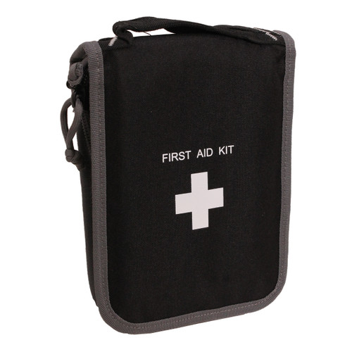 G Outdoors Compact First Aid Kit w/ Pistol Storage Black GPS-D965PCB
