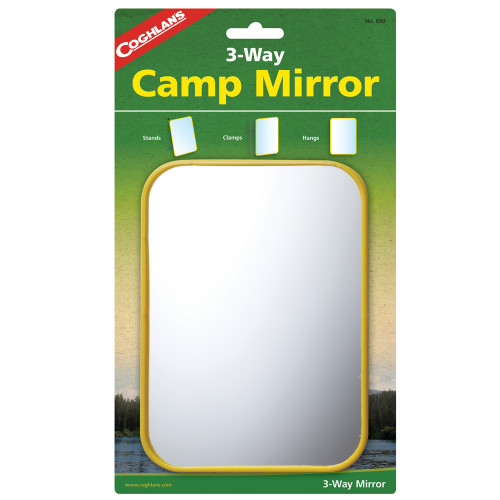Coghlans Camping Mirror (5 in. x 7 in.) 650