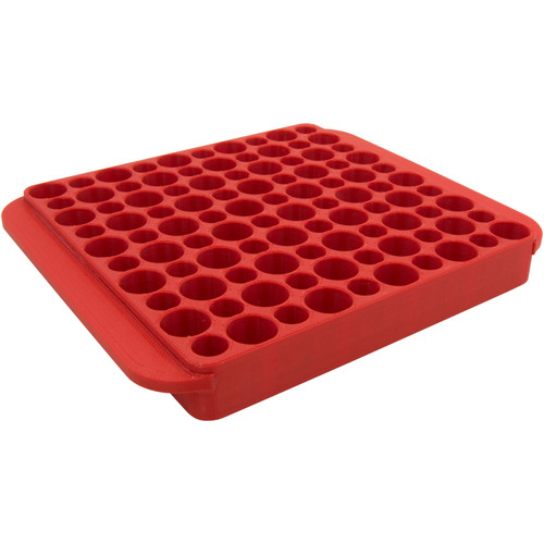 Hornady Reloading Tray Magnum 50-Rounds Red 480042