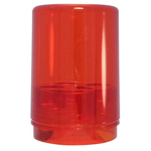 Lee Precision 3 Die Round Storage Box Red 90535